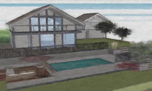 projet piscine sur mesure béton