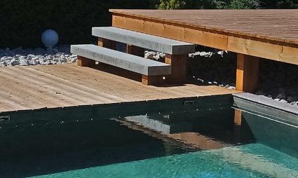 extérieur accès piscines
