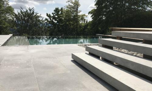 piscine beton sans liner