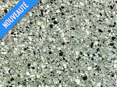 beton gris-basalte noir et granit ponce